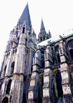 Cathedral at Chartres
