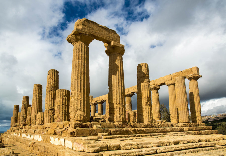 Temple of the Olympian Zeus, Agrigento, Sicily