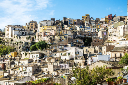Overview of Ragusa, Sicily