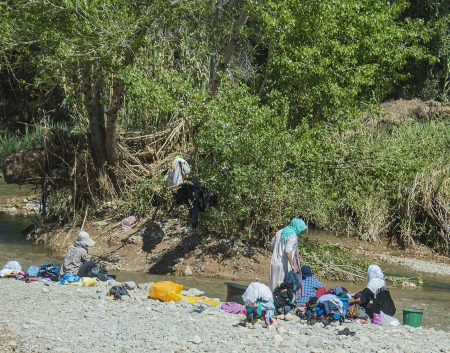 Laundry Day Along the Todra River