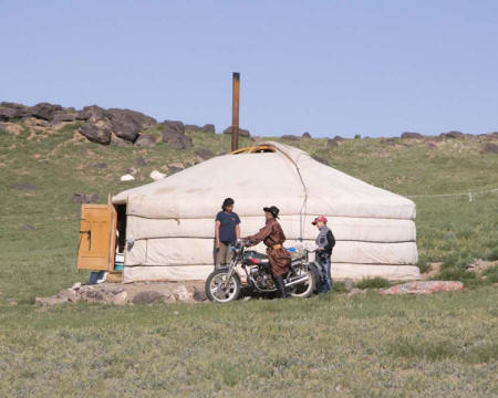 Transport in the Gobi